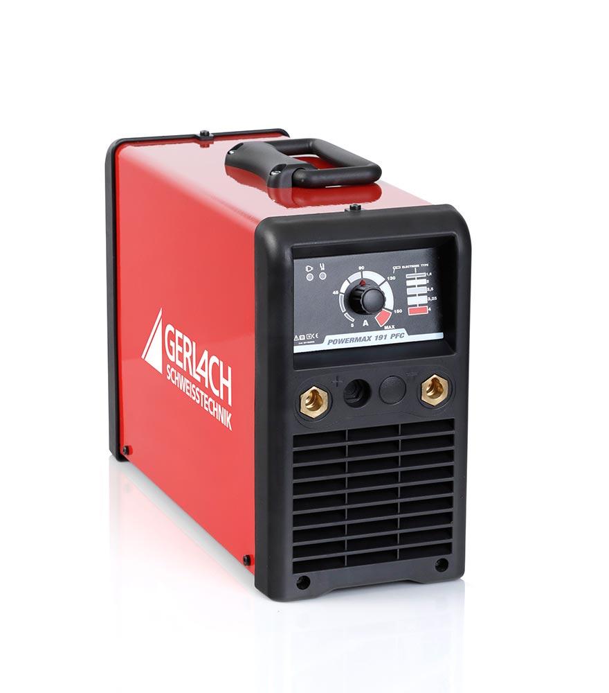 Powermax 150: Der Schweißinverter mit Power Factor Control für das professionelle E-Hand Schweißen.