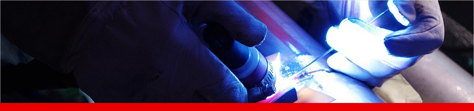 Das WIG-Schweißen ist ein beliebtes Schweißverfahren, mit dem sehr feine Schweißnähte erzeugt werden können.